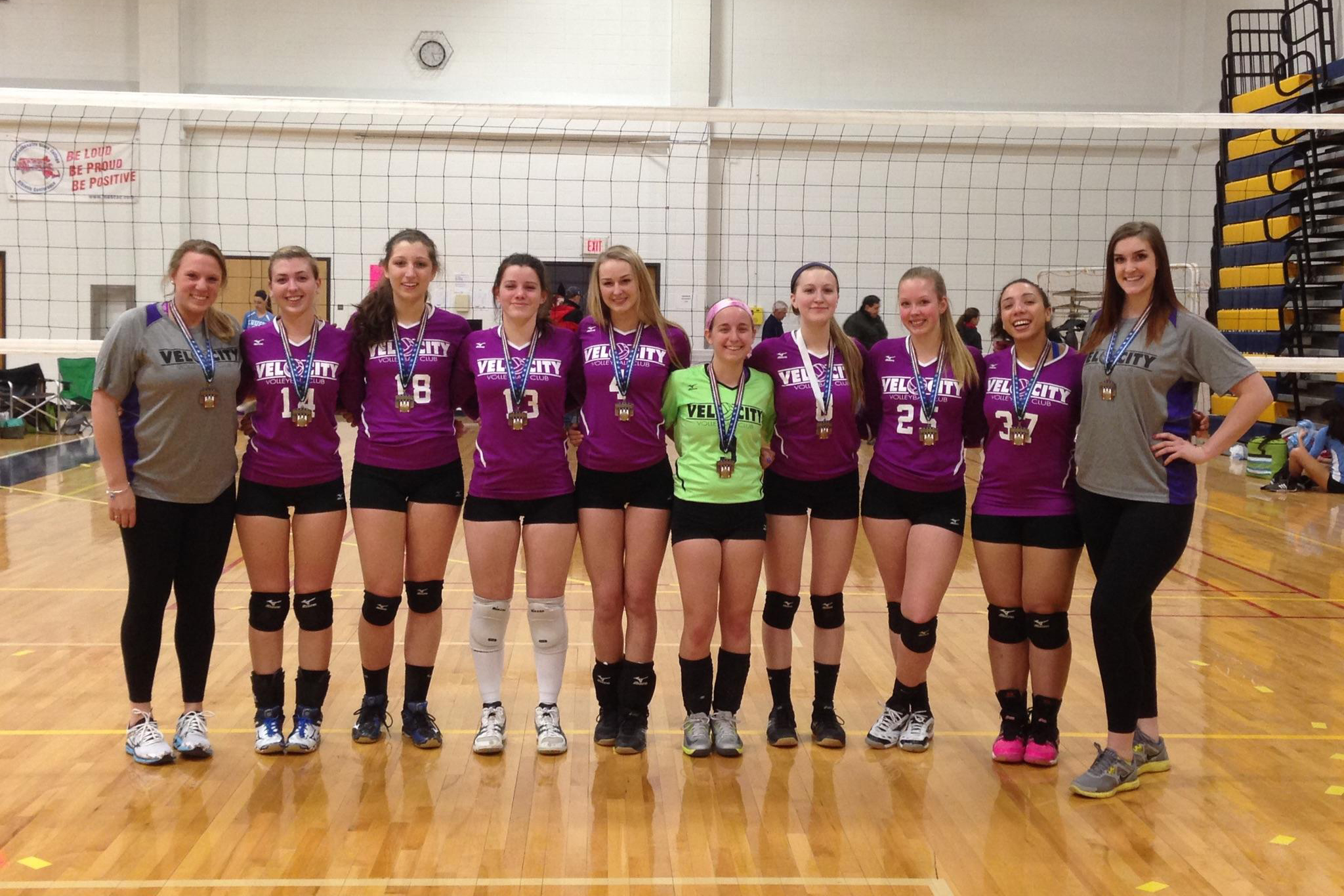 Ct Velocity Volleyball March 2015